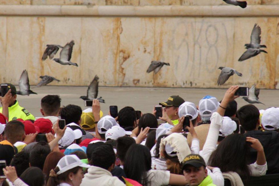 Esperanza,amor y espiritualidad transmite el papa a los feligreses
