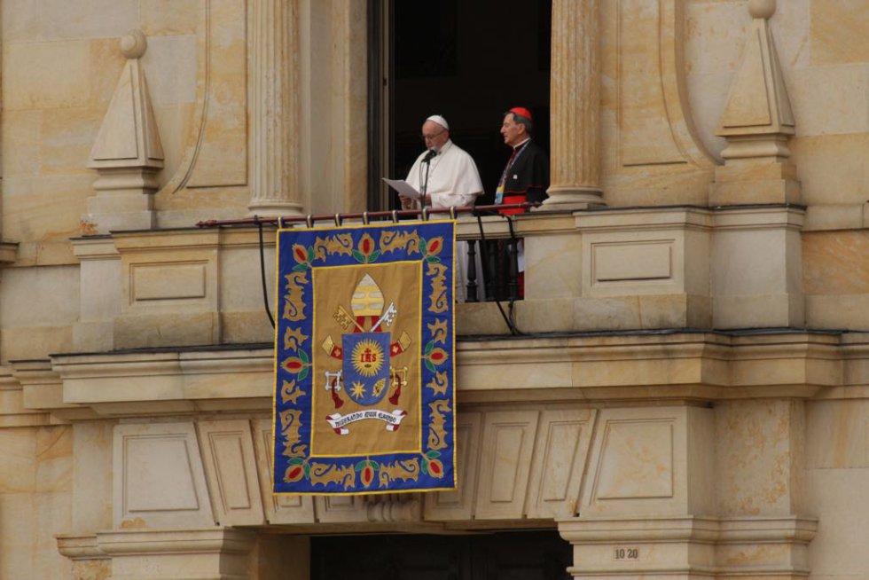 El papa Francisco en su emotivo discurso a los jóvenes