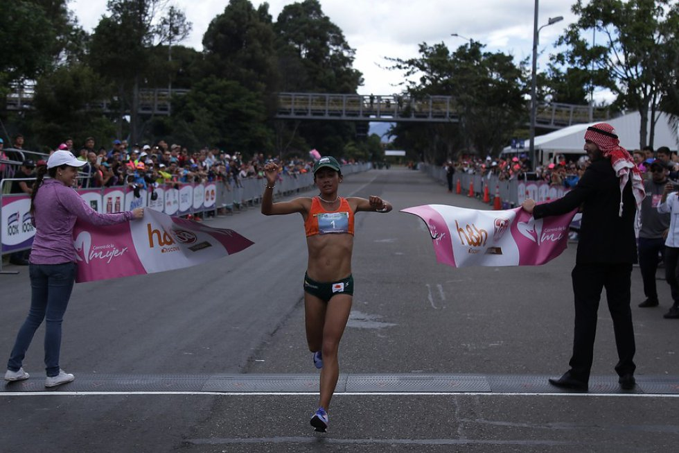Angie Orjuela fue quien ganó en esta oportunidad.