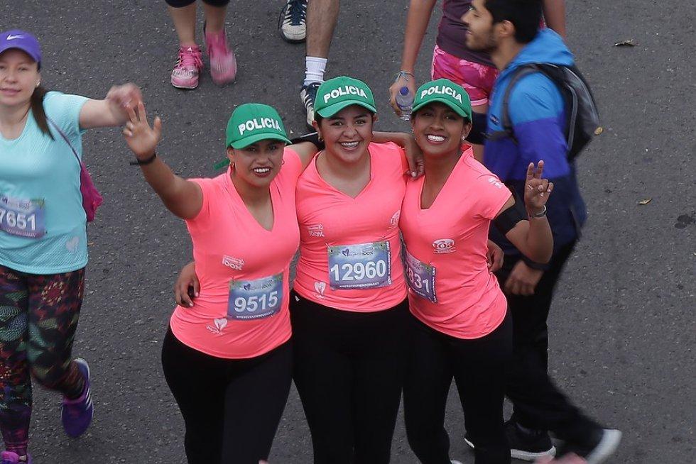 La carrera por la mujer tuvo tres modalidades como es habitual: 10k, 5k y 5k en parejas.