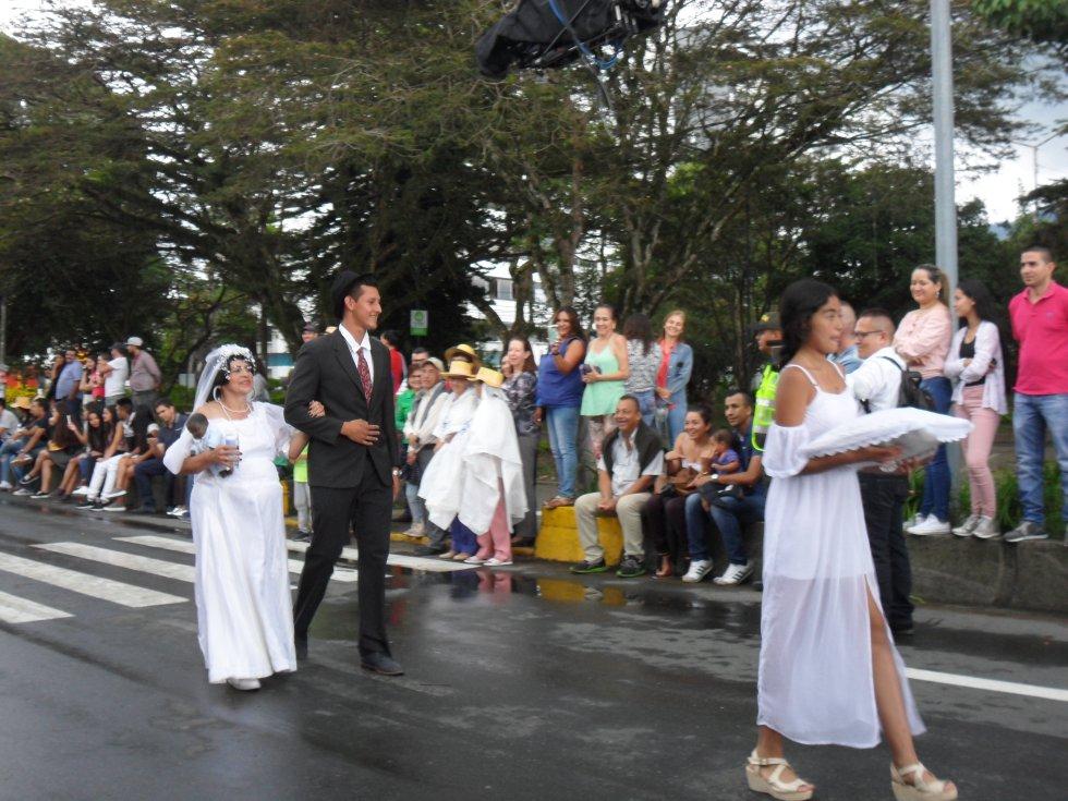 La tradicional familia Castañeda también hizo parte del desfile Cuyabro