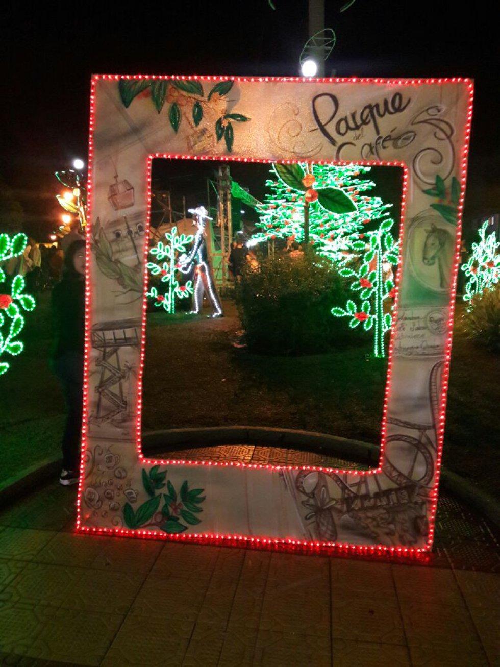 El escenario ideal para la foto del recuerdo en el Parque del Café