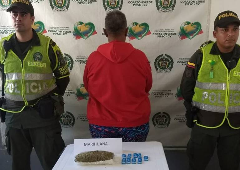 Capturan a adulta mayor en Bolívar que transportaba marihuana prensada: Capturan a adulta mayor en Bolívar que transportaba marihuana prensada