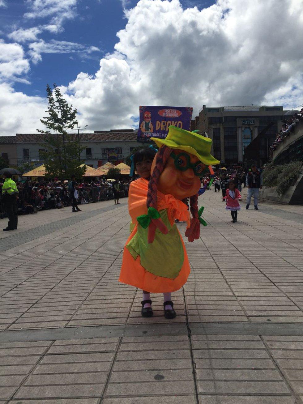 1.600 niños estuvieron en escena en el desfile del Carnavalito que busca preservar el componente artístico y cultural entre las distintas generaciones.