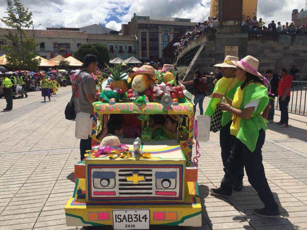 La programación de este 2 de enero continúa con concierto de música andina en a plaza de Nariño mientras que en la plaza de carnaval habrá bandas de rock