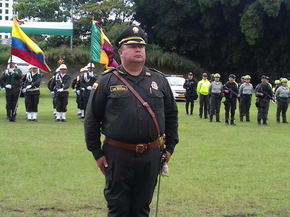El Coronel Luis Hernando Benavides Guancha, nuevo comandante policía Quindío