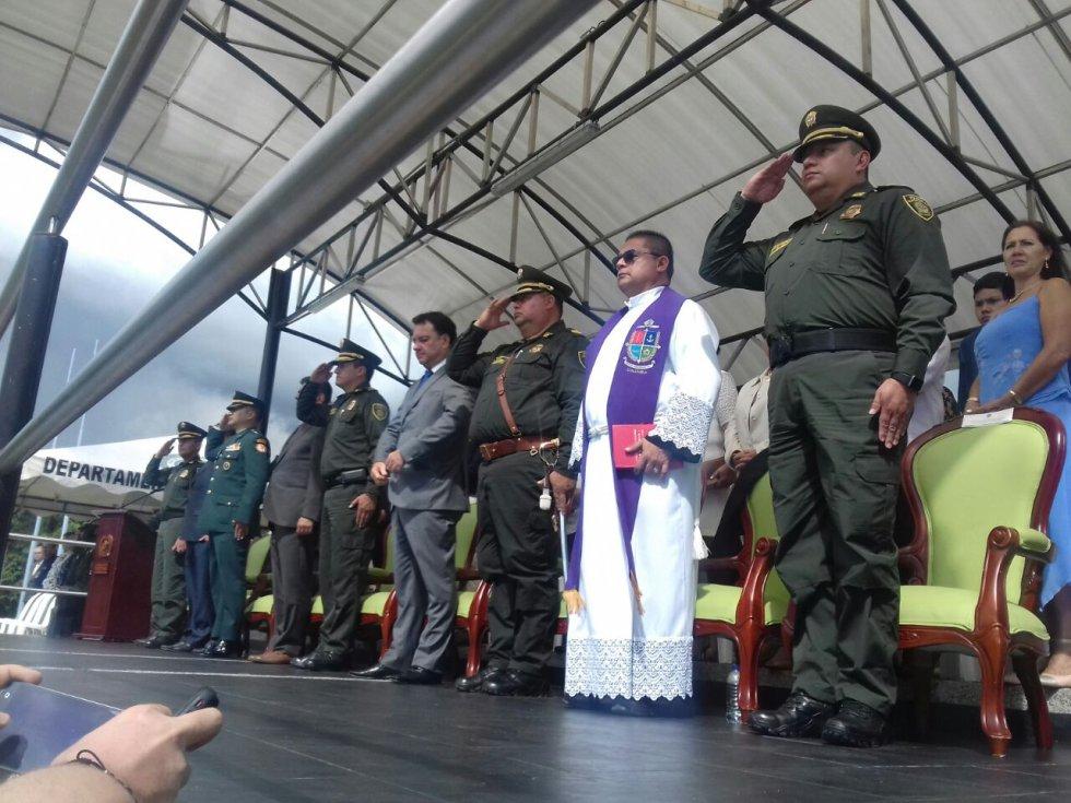 Autoridades político administrativas del Quindío en ceremonia de transmisión de mando