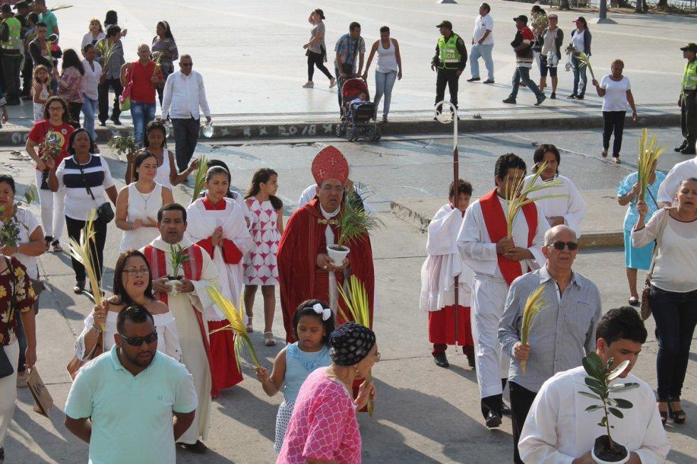 [FOTOS] Barranquilla vivió con devoción el Domingo de Ramos