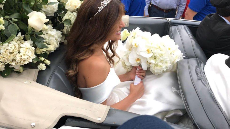Carlos Amaya, ingeniero electrónico boyacense se casó con la médica y ex reina de Córdoba Daniela Assis Fierro.