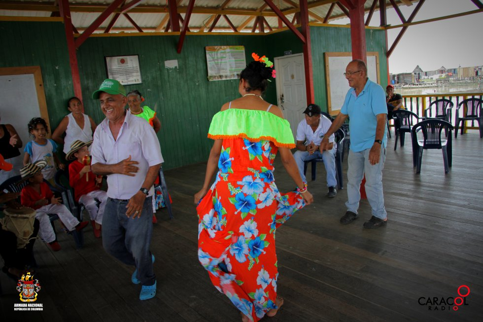 El baile es una muestra de la alegría que contagia sus habitantes.