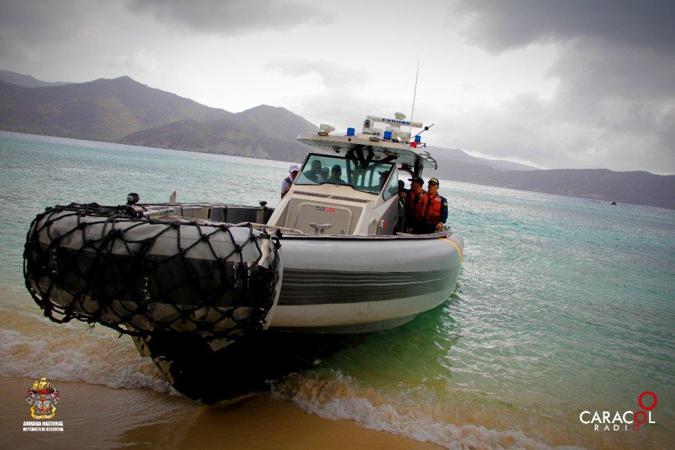 En acompañamiento con la Armada Nacional se hace posible la EcoExpedición Viaje al Corazón del Caribe