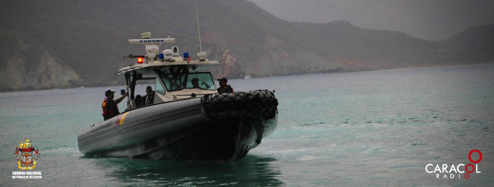Con la compañía de la Armada Nacional se recorrerán 2.221 kilómetros por la Región Caribe.
