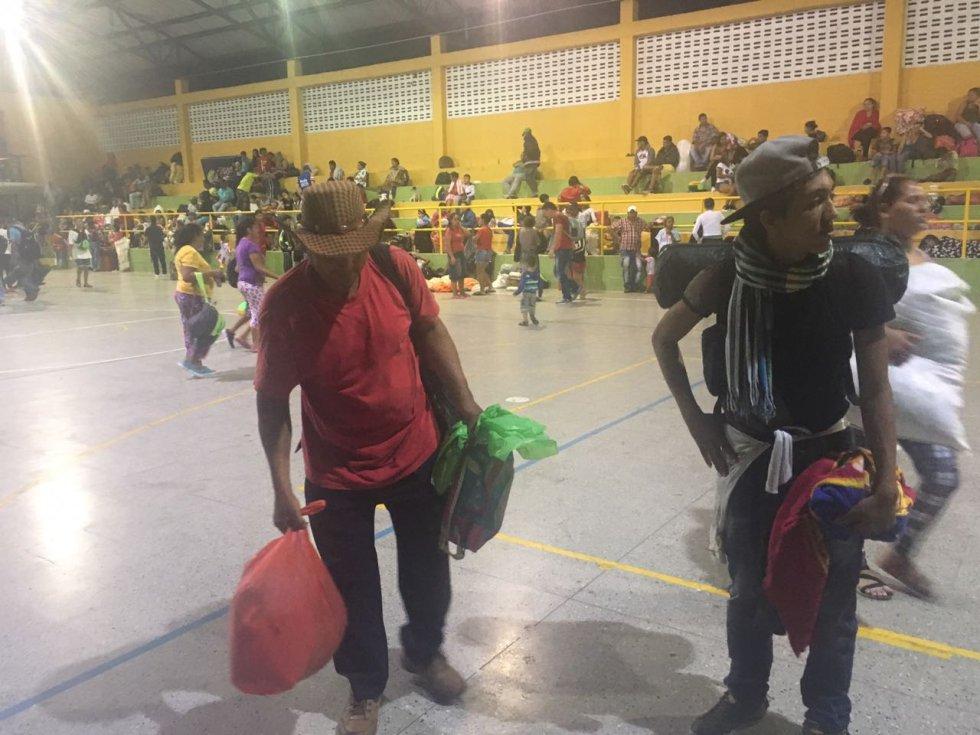 Allí  fueron atendidos por los organismos de socorro y del Grupo EPM, la Policía, el Ejército, la Gobernación de Antioquia y la Alcaldía de Valdivia.