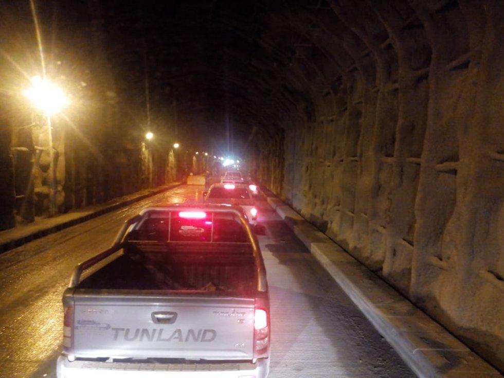 El funcionario también indicó que para el bloqueo definitivo de los túneles obstruidos, se contrató una empresa internacional, la cual ya comenzó con los diseños de ingeniería, los cuales entregará en el mes de julio.
