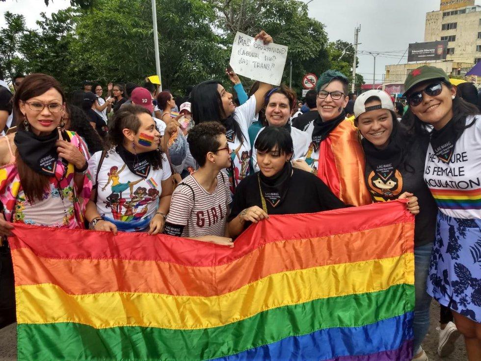 Jóvenes envían mensaje de no a la discriminación