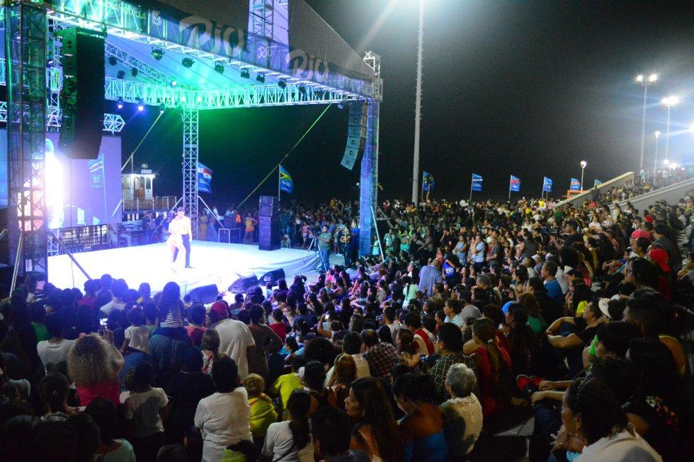 Más de 700.000 personas visitaron el Gran Malecón del Río durante el Festival del Río.