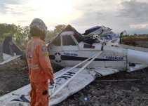 Avioneta se accidentó en Tolima