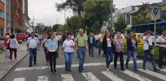 Café, Movilización, Cafeteros, Caldas, Bolsa de Nueva York: Cafeteros marcharon en Manizales por un mejor precio del café