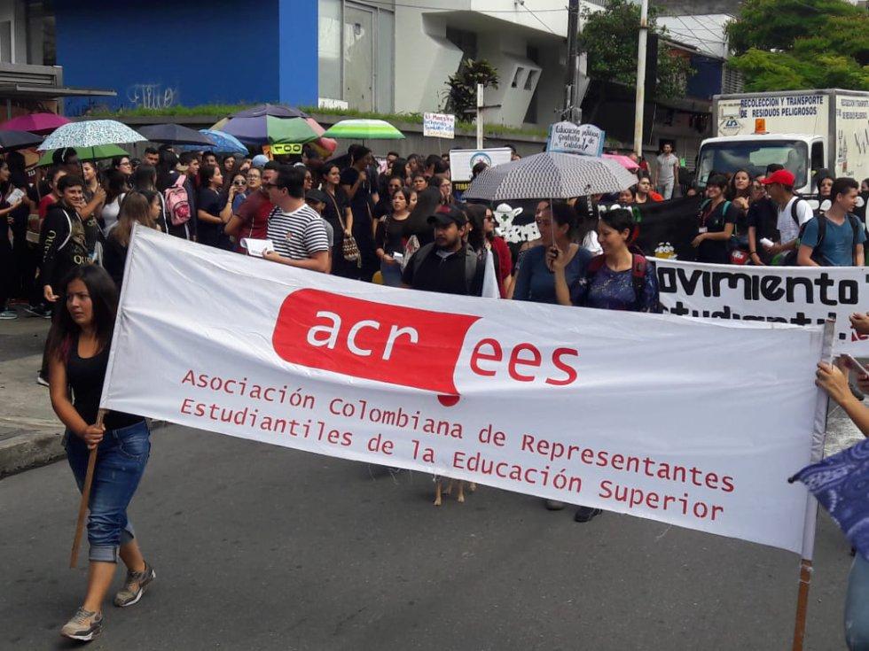 Las mujeres también se sumaron a la movilización universitaria
