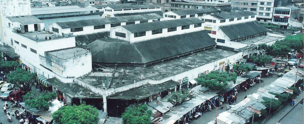 Plaza de mercado o galería, demolido
