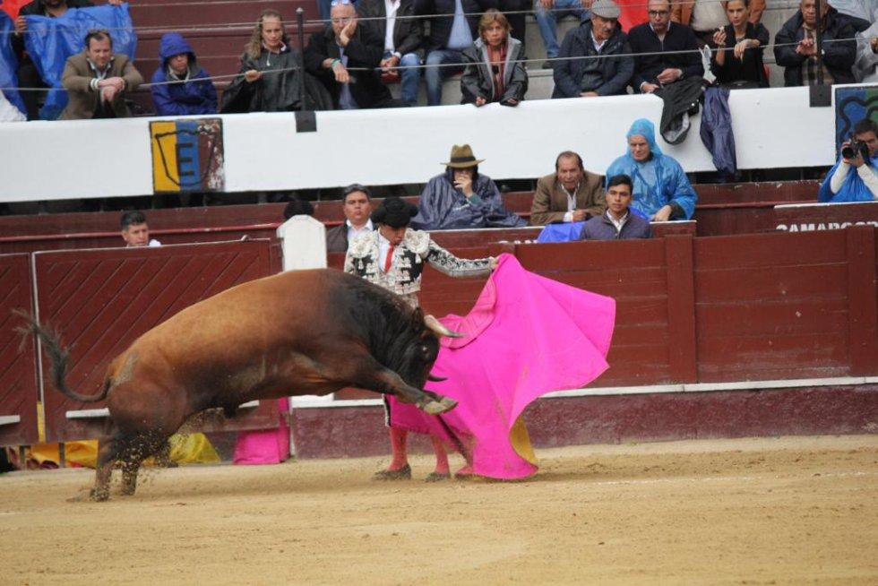 Así fue la segunda corrida de toros en La Santamaría