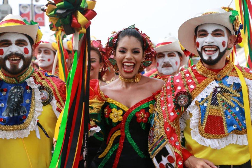Motivados viviendo el Carnaval
