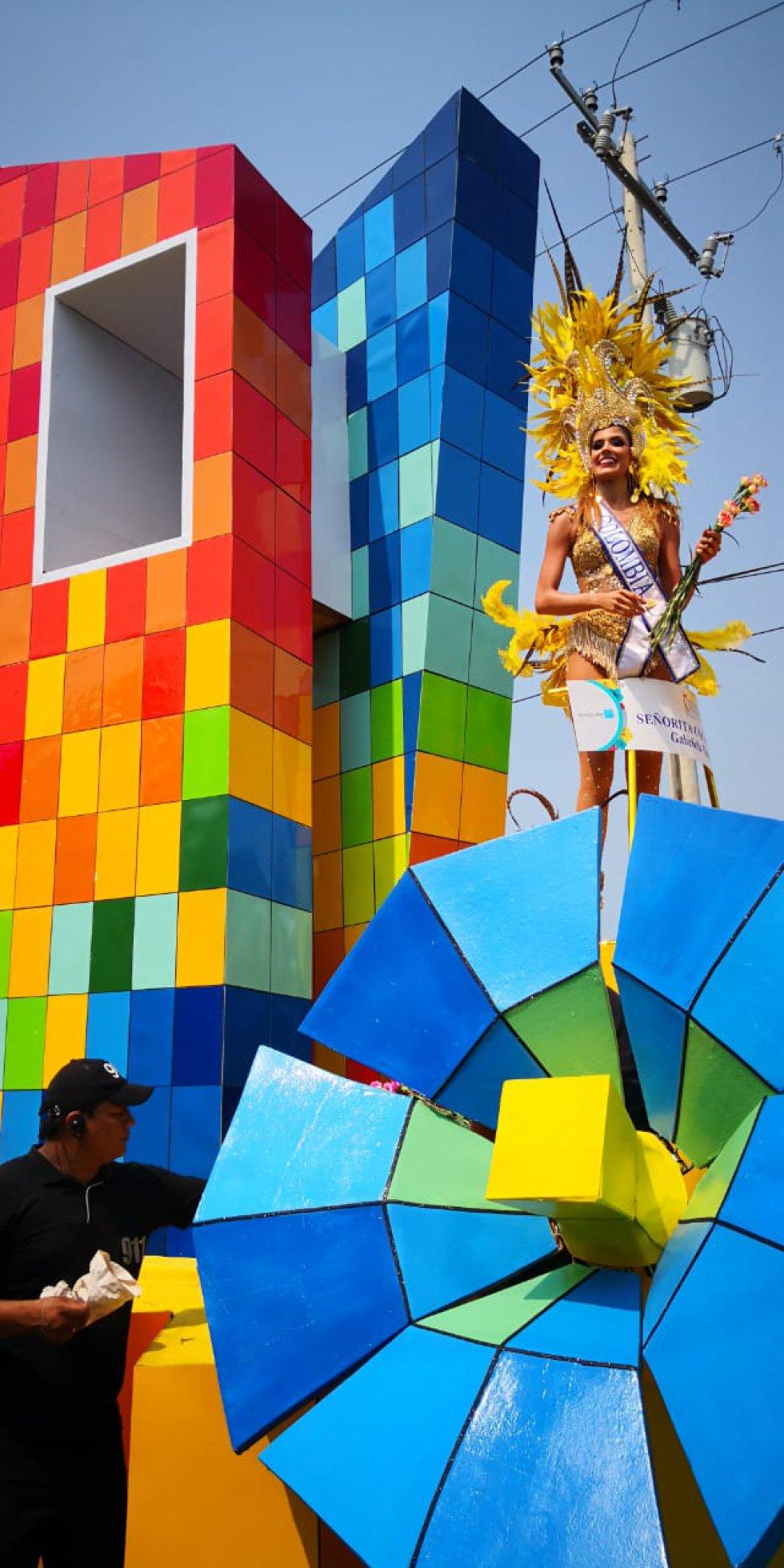 La señorita Colombia Gabriela Tafur