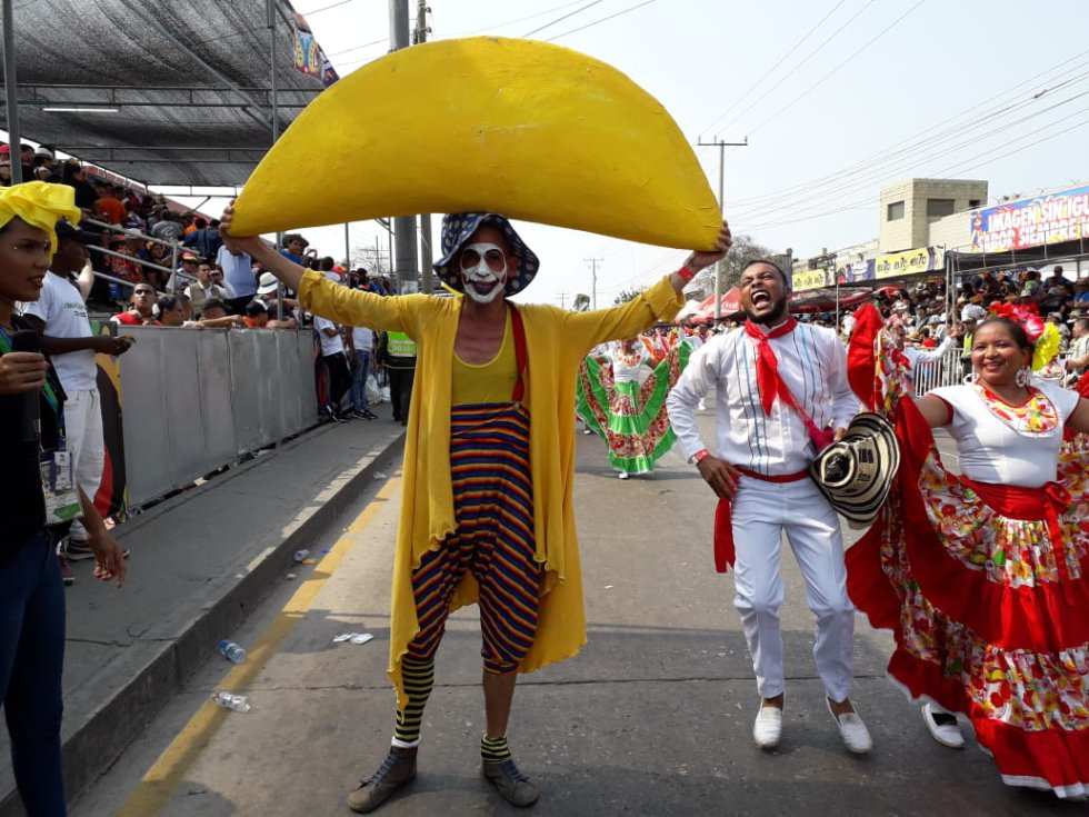 La empana presente en el Carnaval