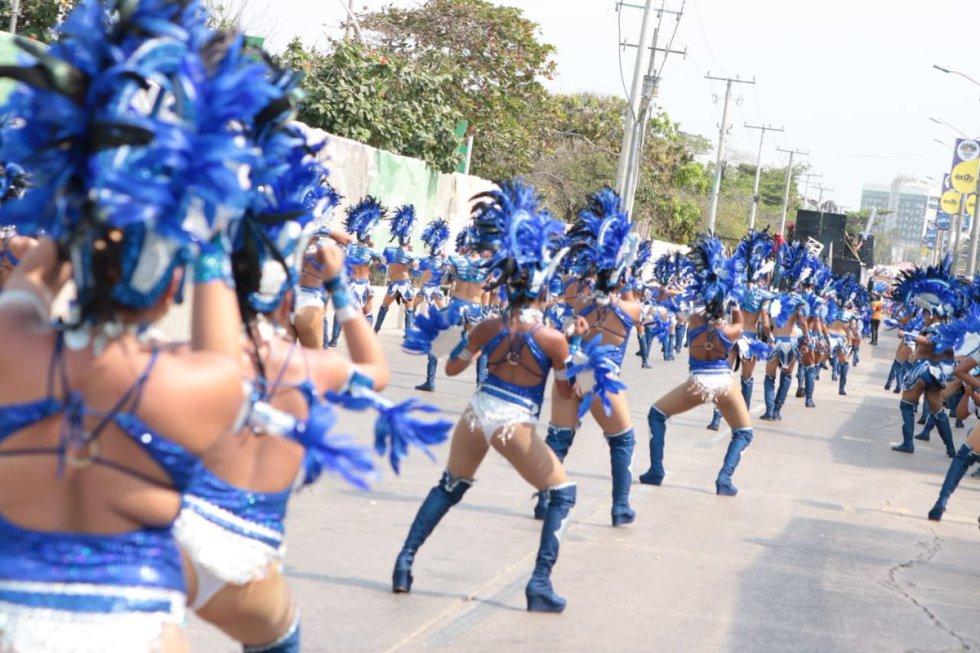 Gran Parada de Comparsas: Barranquilla brilló con la Gran Parada de Comparsas