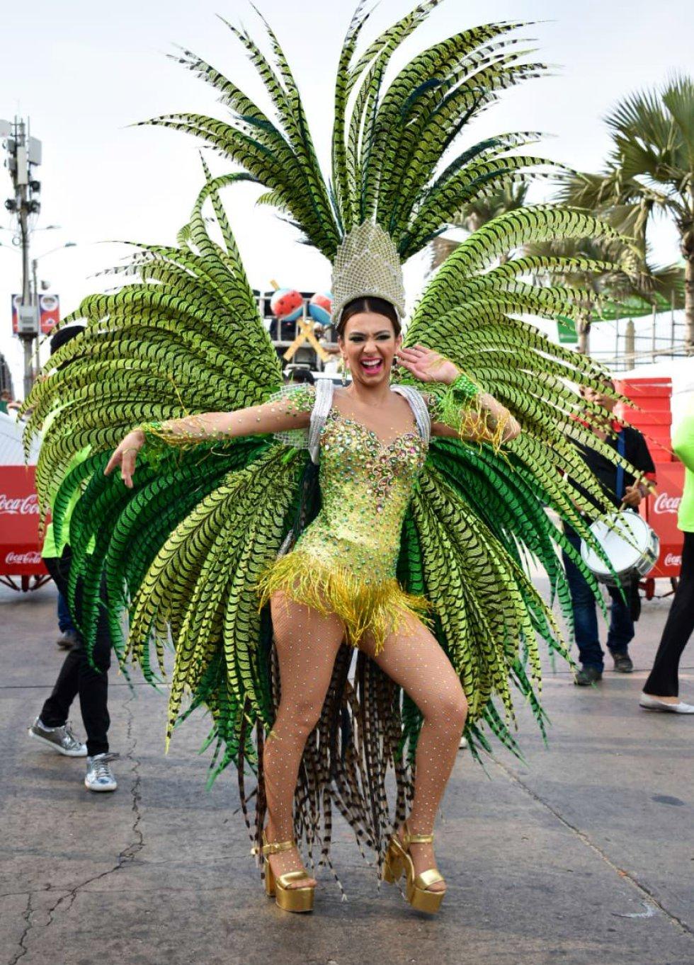 La reina del Carnaval, Carolina Segebre