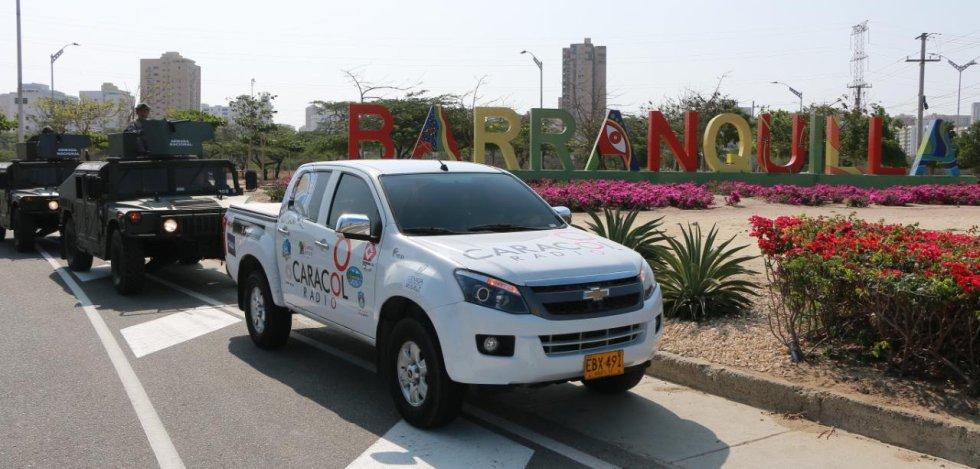 Entrada de Barranquilla