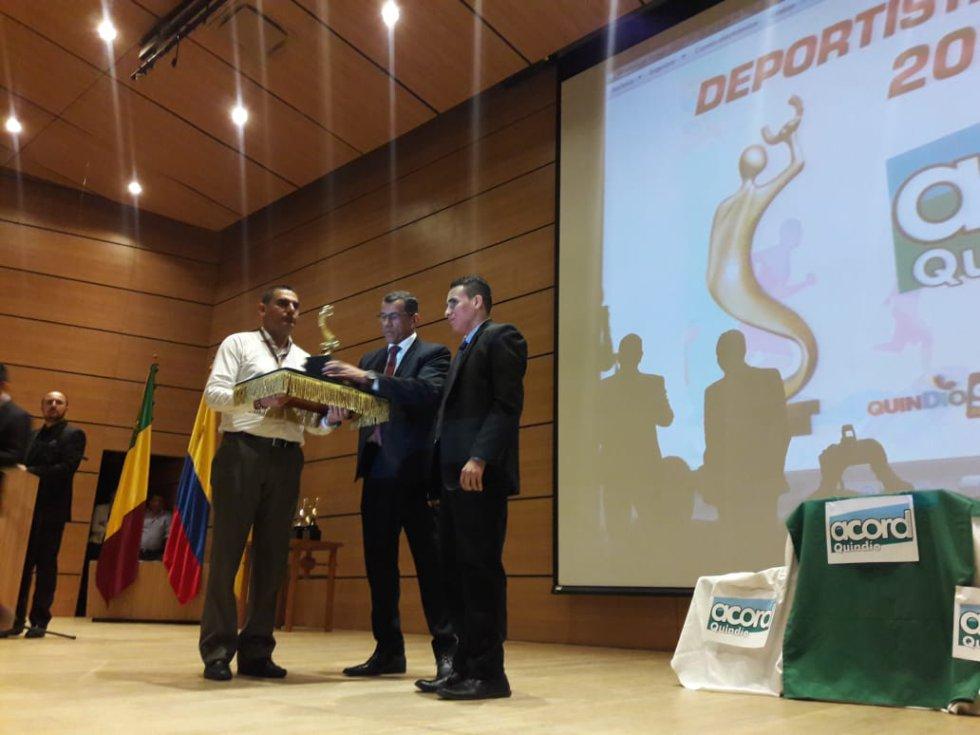 Deportista especial a Jhonatan Stiven Velasco en Judo