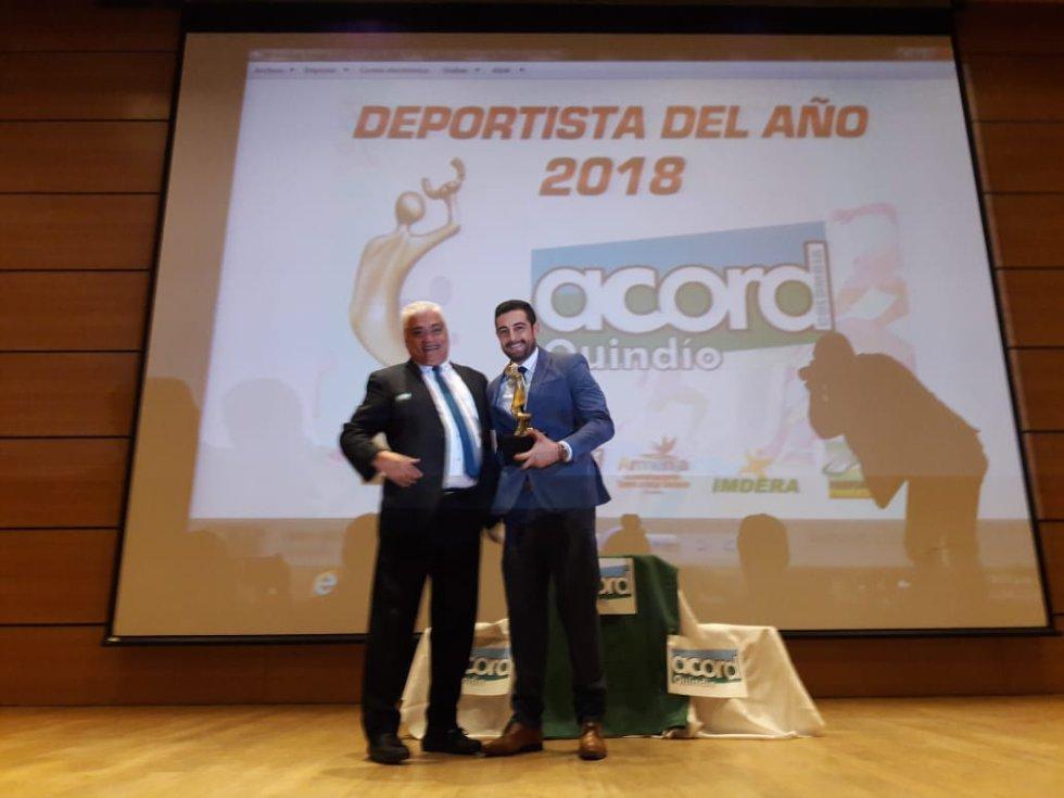 Reconocimiento a Cristian Marín socio Acord