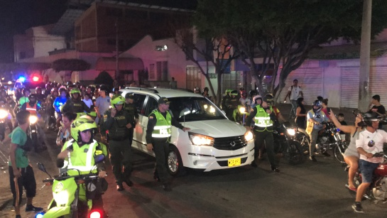 Murio Pastor Lopez en Cúcuta: Miles de cucuteños acompañaron caravana del carro fúnebre de Pastor López