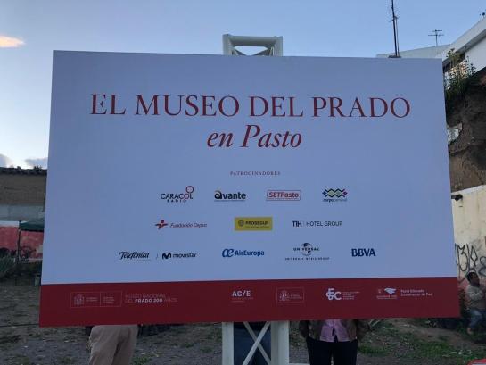 Museo del Prado: En Pasto hoy se abre el Museo del Prado