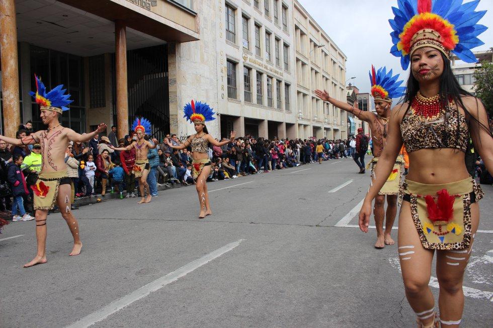 Las diferentes ciudades mostraron sus culturas por medios del baile