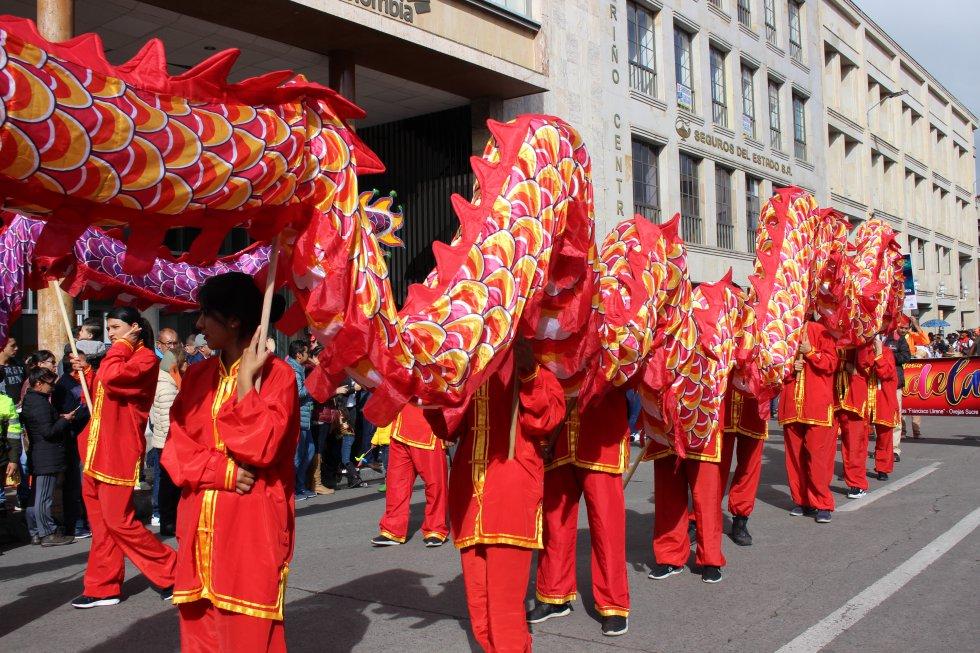 Varios lugares de Nariño, Cali, Cartagena, China, entre otras regiones mostraron sus tradiciones