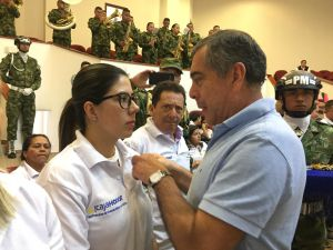 General , Luis Felipe Paredes Cadena, Gerente General Caja Honor