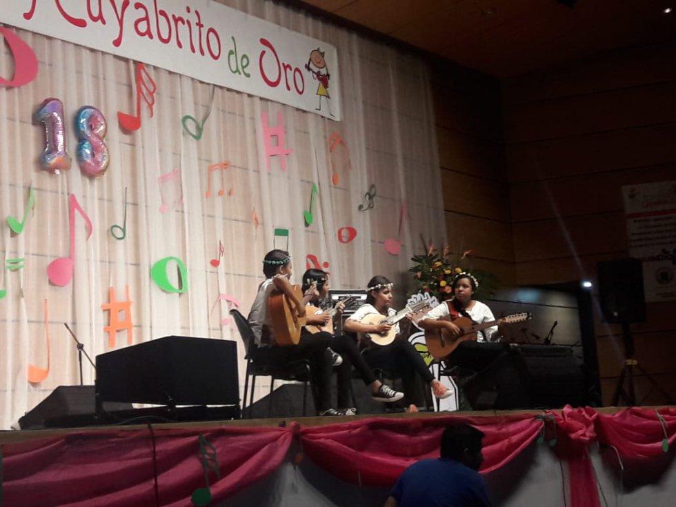 Cuarteto Cuatro Lunas del Valle del Cauca, en la modalidad instrumental
