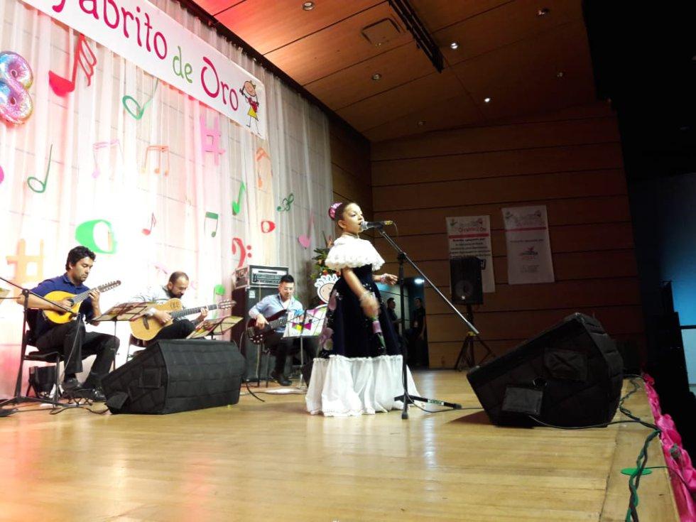 Melissa Murillo Londoño del Valle del Cauca, modalidad vocal A
