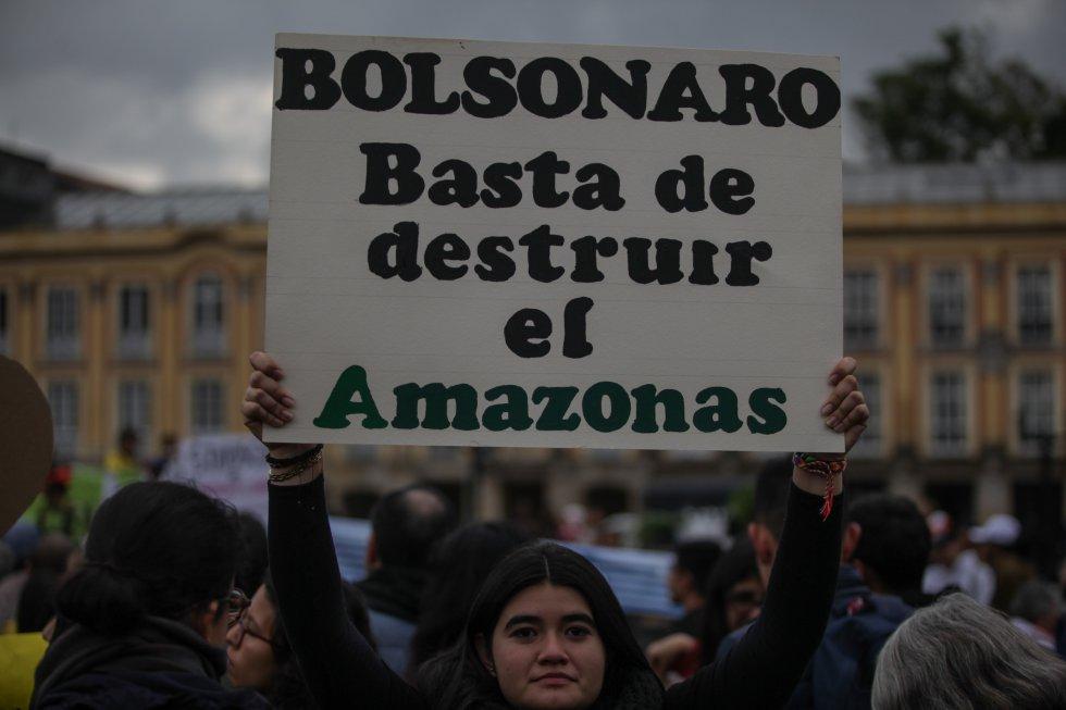 Semana contra el cambio climático: Bogotá se une a las protestas contra el cambio climático