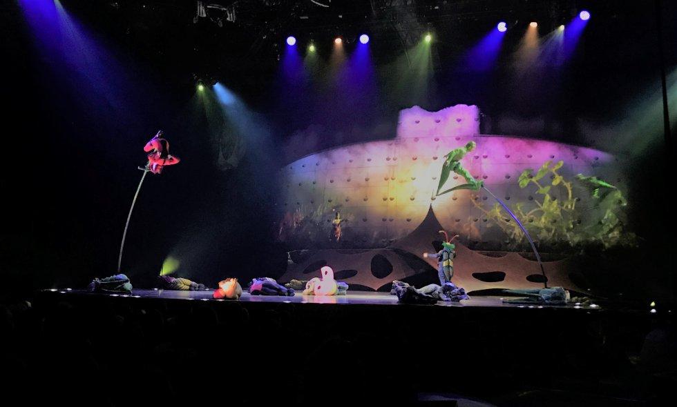 Cirque du Soleil en Medellín: Con la casa llena fue la primera función del Cirque du Soleil en Medellín