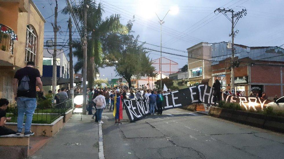 Los estudiantes de la Universidad del Quindío y su mensaje a las directivas