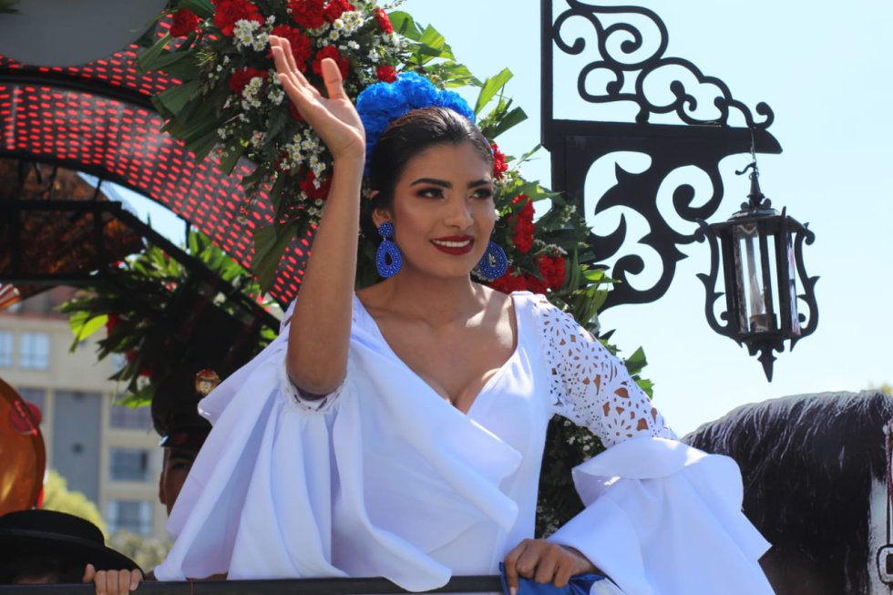 Desfile de las Carretas del Rocío