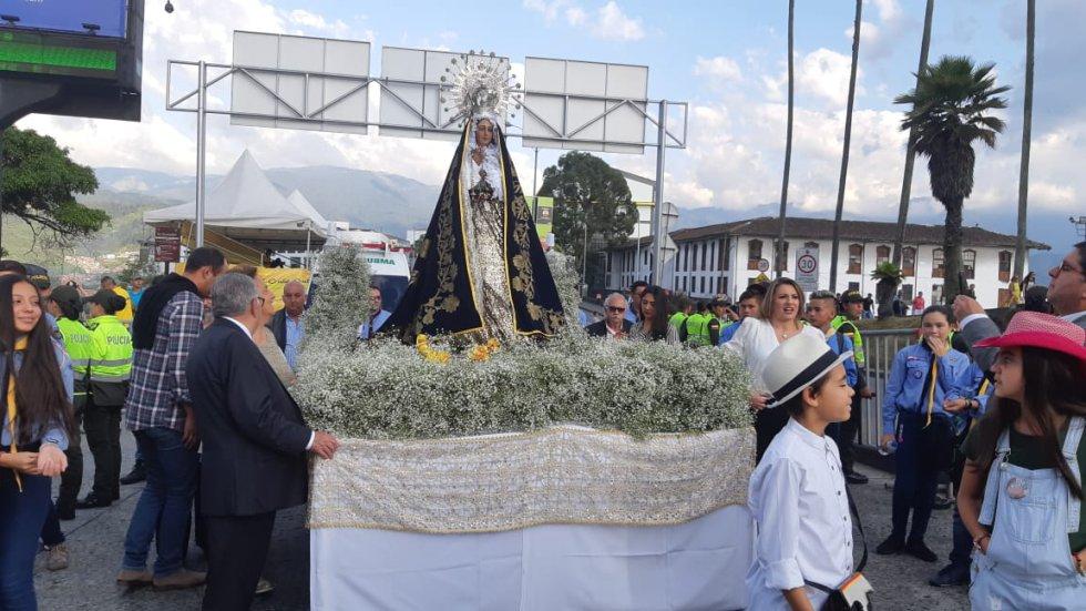 Procesión de La Macarena en la Feria de Manizales