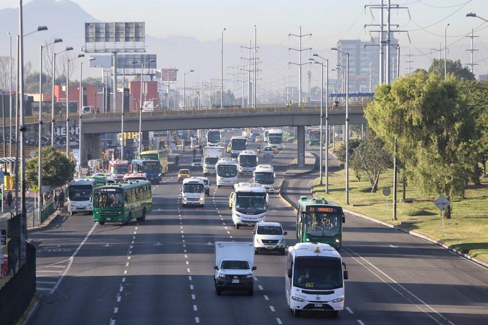 En la ciudad no se presenta tráfico