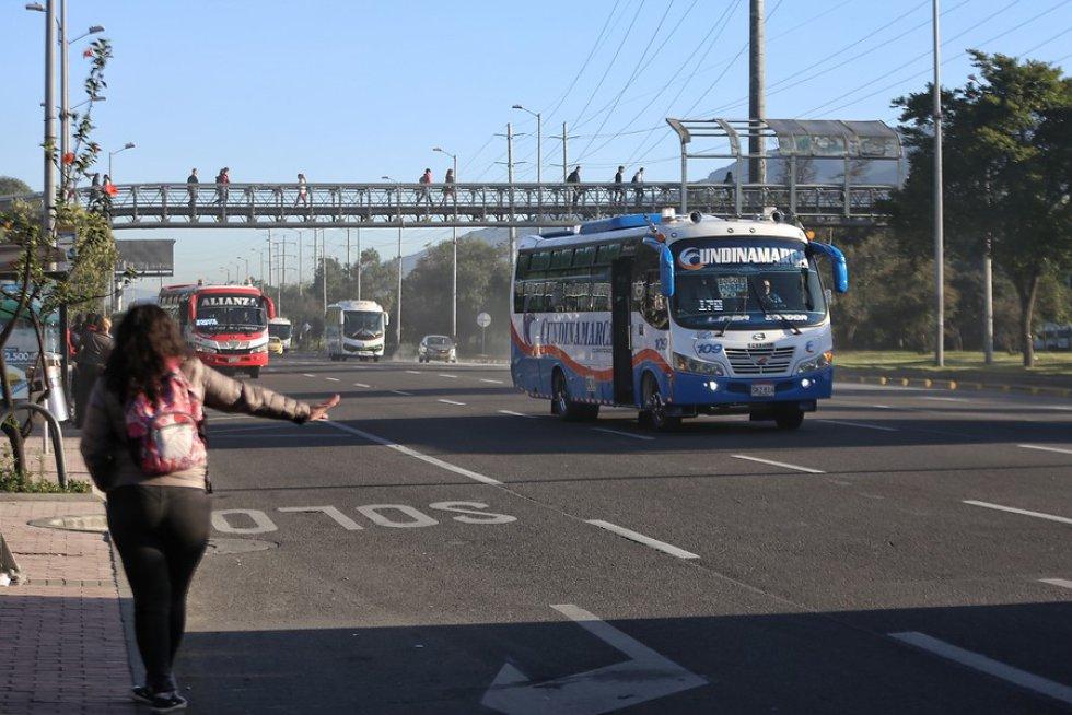 Ciudadanos optan por el transporte público