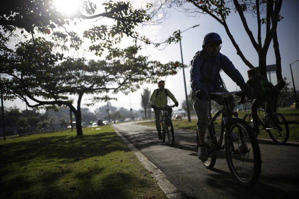 Movilizaciones en bicicleta