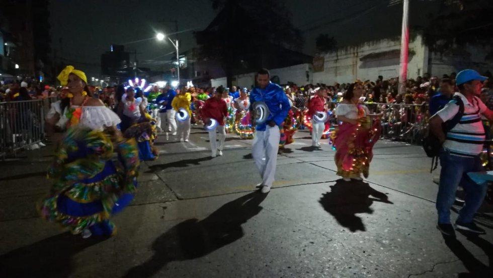 Más de 16.000 bailadores participaron de la noche de Guacherna, el evento nocturno más grande del Precarnaval