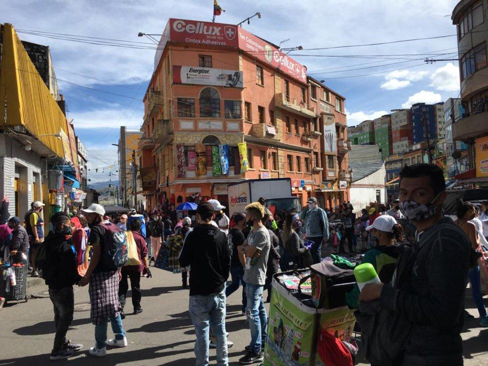 Totalmente llenas: Así lucen las calles de San Victorino